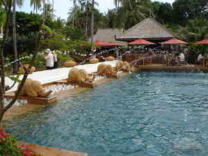 JW Marriott Bangkok pool