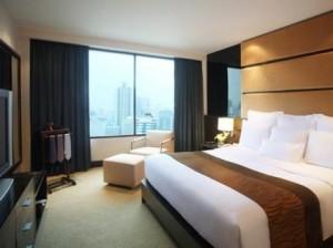 Marriott Bangkok room