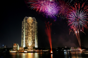 New Year's Eve on the Chao Phraya