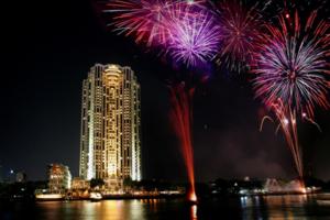 New Year's Eve on the Chao Phraya
