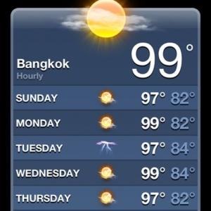 Bangkok heat
