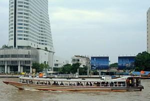 Chao Phraya Taxi Boat