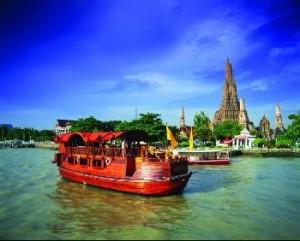 Chao Phraya Teak Boat